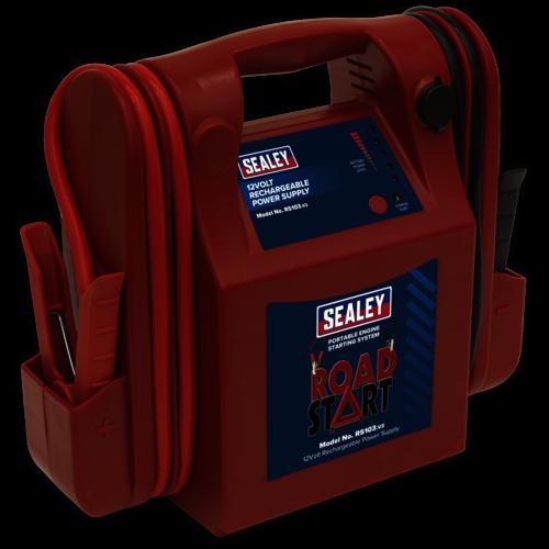 RoadStart® Emergency Jump Starter 12V 3200 Peak Amps - Sealey - RS103