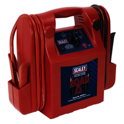RoadStart® Emergency Jump Starter 12/24V 3200/1600 Peak Amps - Sealey - RS105