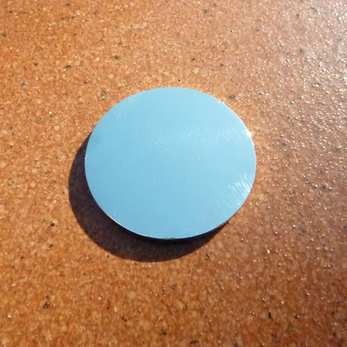 """Ladies """"INITIAL"""" 30mm Ball Marker - Nickel + Epoxy Dome"""