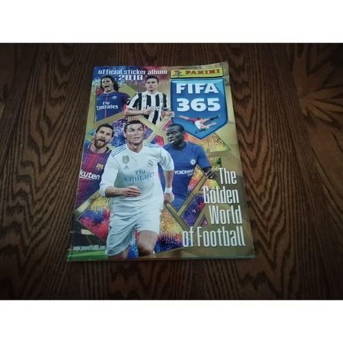 FIFA 365 2018 Panini sticker Album - Complete