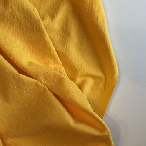 Yellow Cotton Dobby