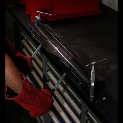 Sheet Metal Folder Vice/Bench Mounting 700mm - Sealey - TS01