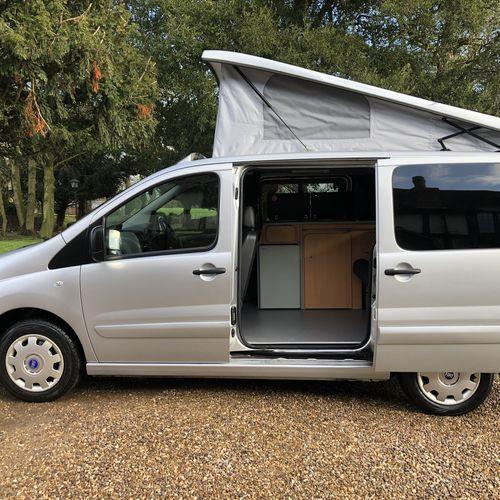 2007 (57)reg Fiat Scudo Camper Van 2 Berth 1.6 M-JET SWB COMF 90BHP Campervan
