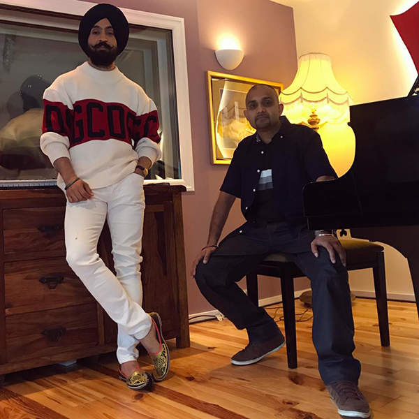 Punjabi music producer Tru Skool clarifies rumours of not working with Diljit Dosanjh