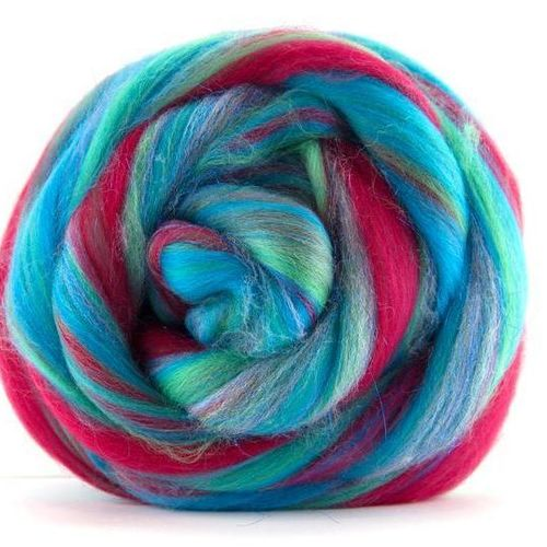 Under the Sea - Merino and Glittery Blend 100g