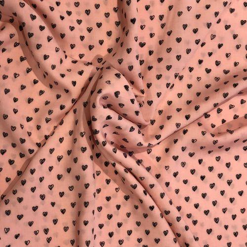 In Love Pink Viscose