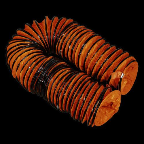 Flexible Ducting Ø250mm 10mtr Extension - Sealey - VEN250AK2