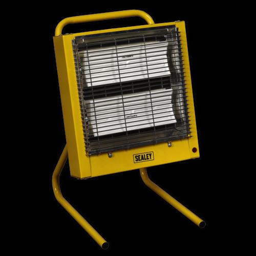 Ceramic Heater 1.4/2.8kW 110V - Sealey - CH28110V