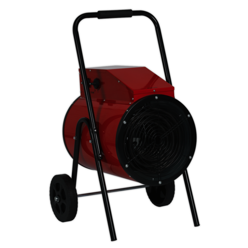 15kW Industrial Fan Heater 415V 3ph - Sealey - EH15001