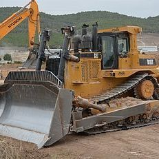 Bulldozers upto D10 size