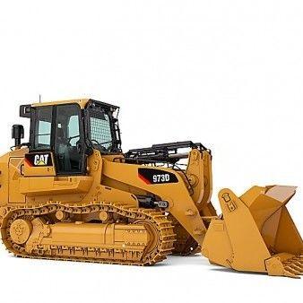 Tracked loading shovel all sizes
