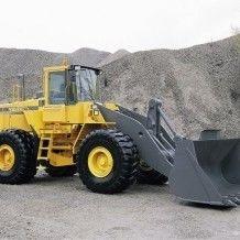 Wheeled loading shovel all sizes