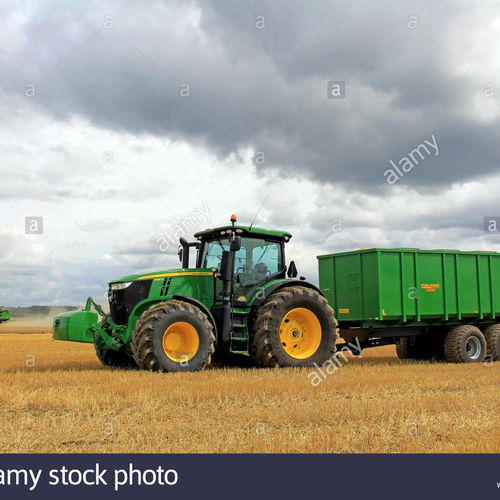 Agricultural Tractor & Trailer