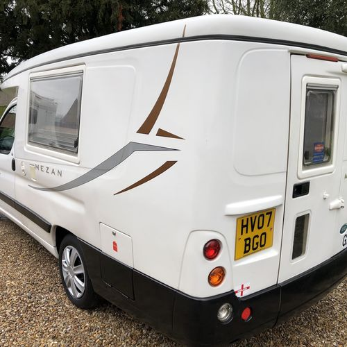 2007 Auto Sleeper Mezan Low Line 2 Berth Camper Van Peugeot Partner 2.0 HDi