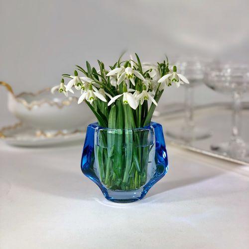 Small winged vase by Frantisek Vizner 1960s