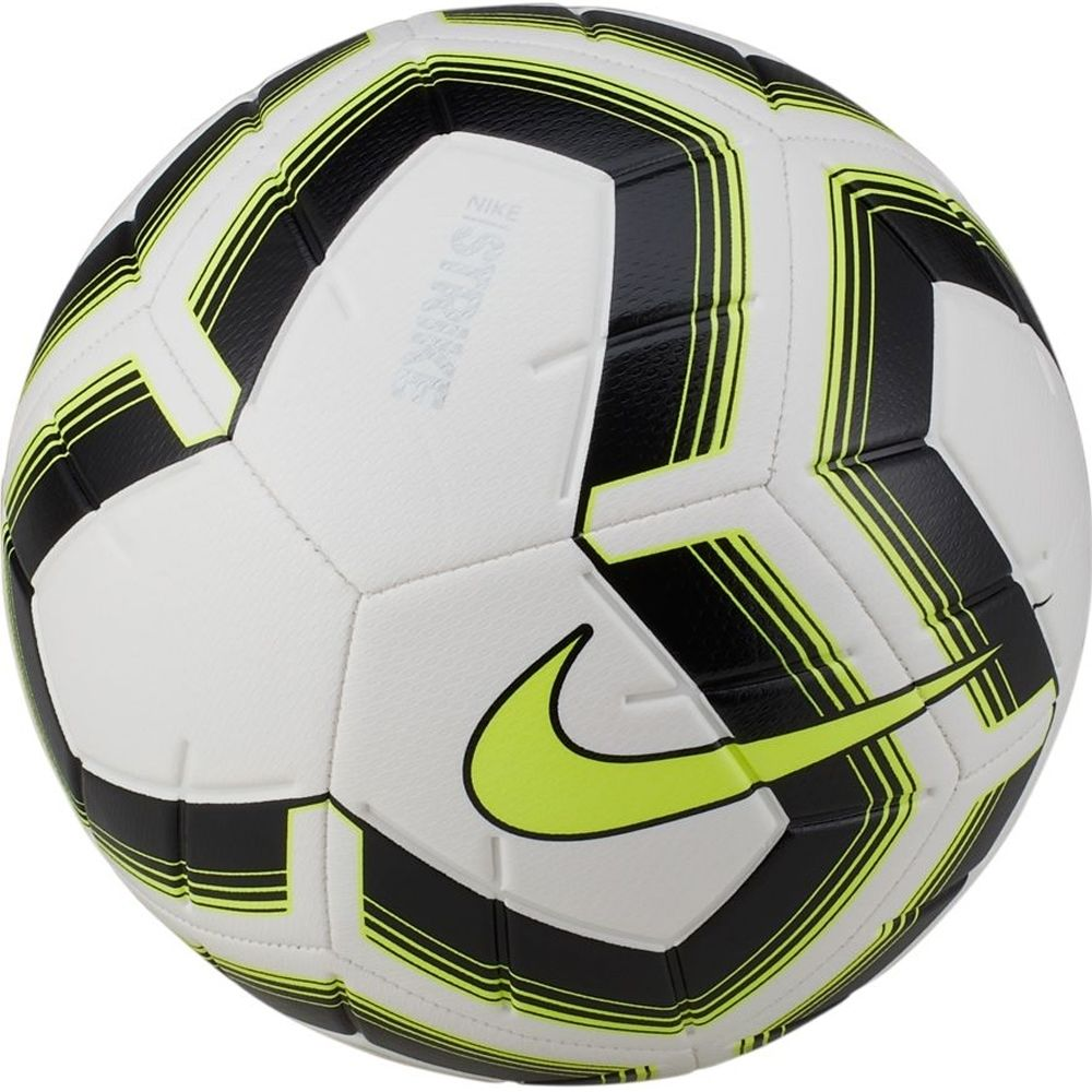 Pack of 10 Black/Volt Nike Strike Team Footballs
