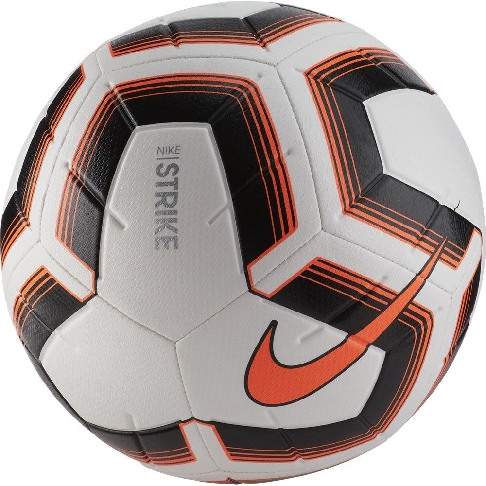 Pack of 10 Black/Orange Nike Strike Team Footballs