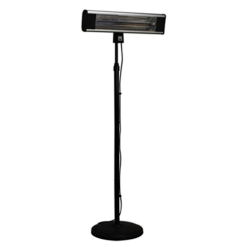 High Efficiency Carbon Fibre Infrared Patio Heater 1800W/230V - Sealey - IFSH1809R