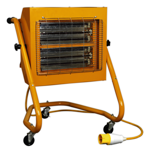 1.5/3kW 110V Infrared Heater - Sealey - IRS153110V