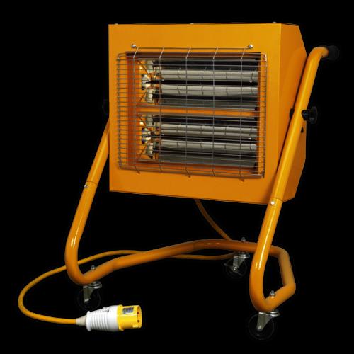 1.5/3kW 110V Infrared Heater - Sealey - IRS153110V