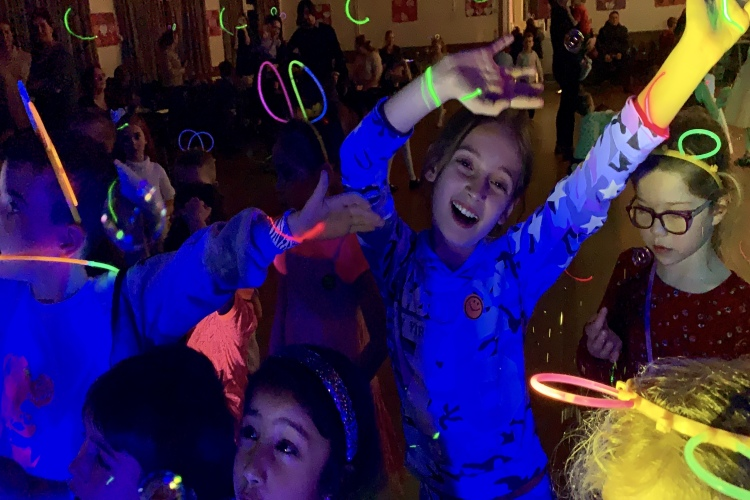 UV Glow Neon Disco Kids Party