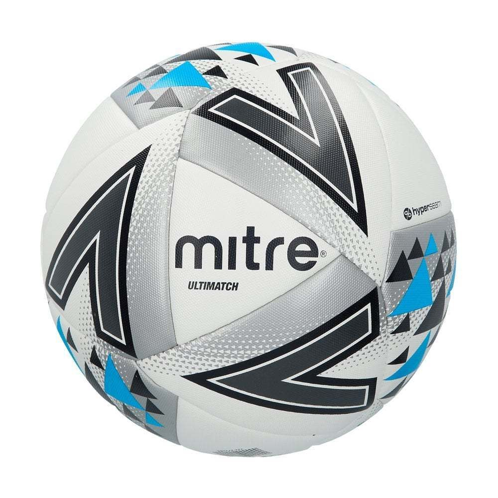 Bundle of 5 Mitre Ultimatch Footballs