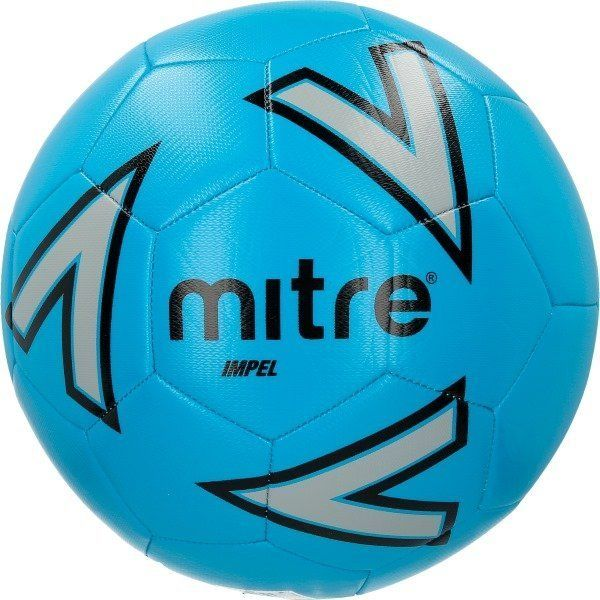 Bundle of 10 Blue Mitre Impel Footballs