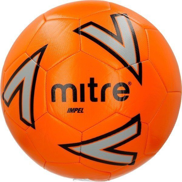 Bundle of 10 Orange Mitre Impel Footballs