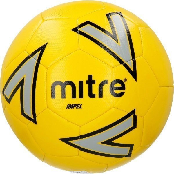 Bundle of 10 Yellow Mitre Impel Footballs