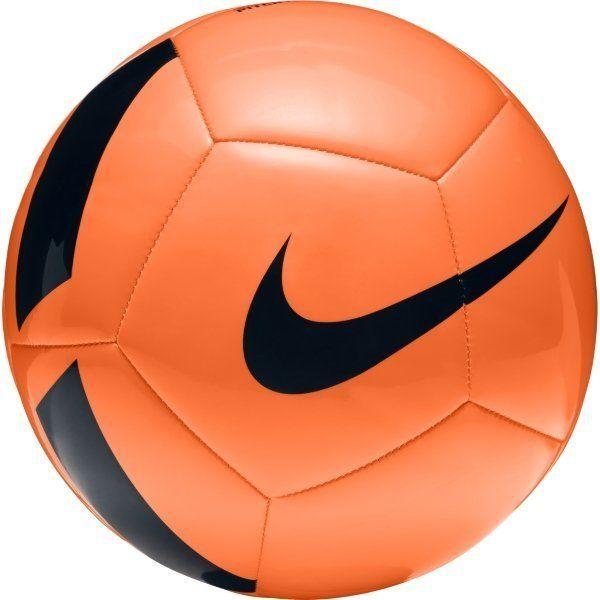 Bundle of 10 Orange Nike Pitch Team Footballs
