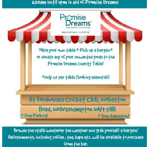 Promise Dreams Table Top Sale