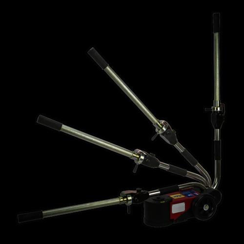 Air Operated Folding Jack 15-30tonne - Telescopic - Sealey - YAJ15-30F