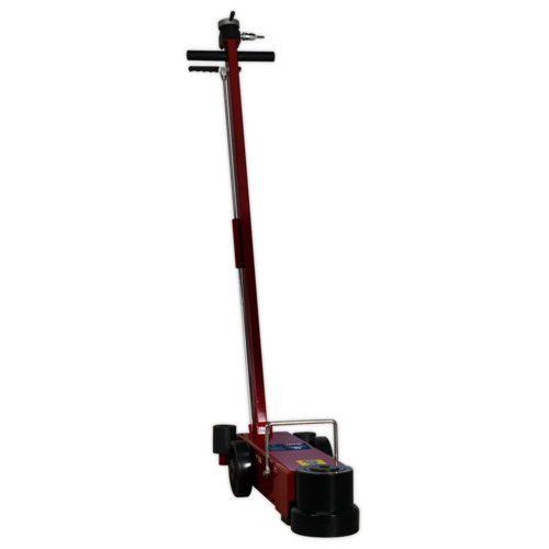 Air Operated Jack 30tonne Telescopic - Long Reach Low Entry - Sealey - YAJ15-30LE