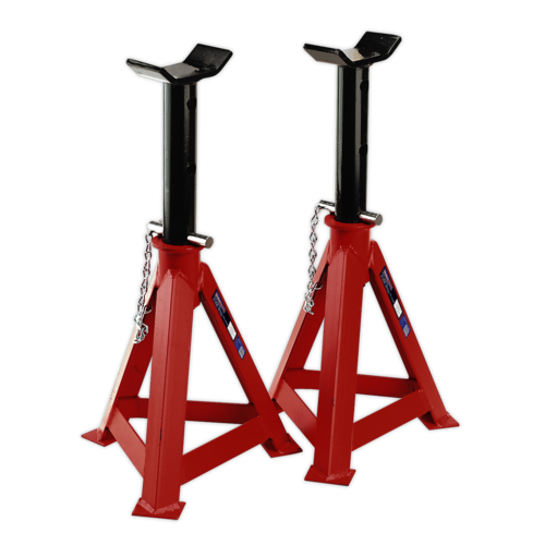 Axle Stands (Pair) 10tonne Capacity per Stand - Sealey - AS10000