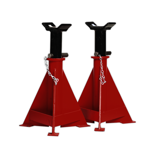 Axle Stands (Pair) 15tonne Capacity per Stand - Sealey - AS15000