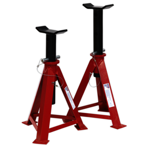 Axle Stands (Pair) 7.5tonne Capacity per Stand - Sealey - AS7500