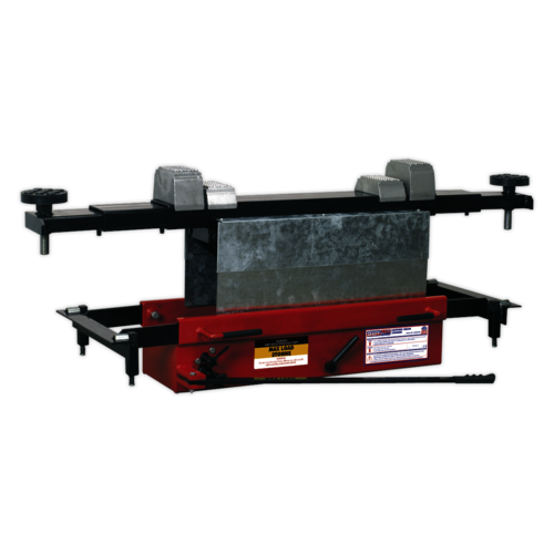 Jacking Beam 3tonne with Arm Extenders & Flat Roller Supports - Sealey - SJBEX300