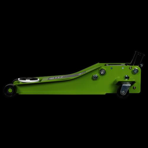 Trolley Jack 2tonne Low Entry ROCKET LIFT Hi-Vis Green - Sealey - 2001LEHV