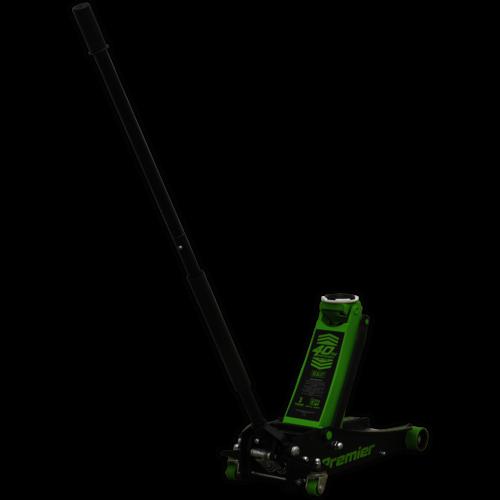 Trolley Jack 3tonne ROCKET LIFT Green - Sealey - 3040AG