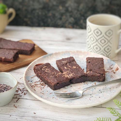 Warm Vegan Brownies