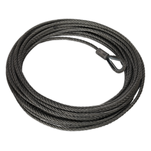 Wire Rope (Ø13mm x 25mtr) for RW8180 - Sealey - RW8180.WR