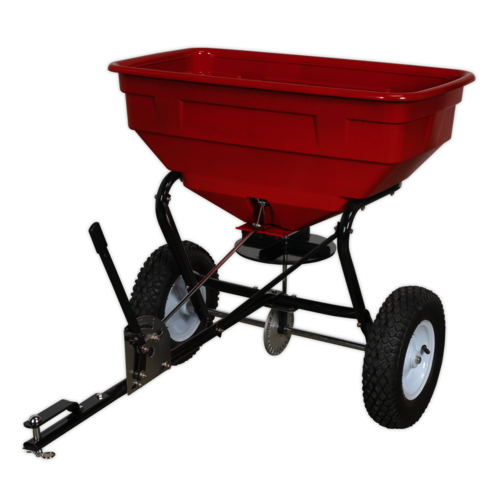 Broadcast Spreader 57kg Tow Behind - Sealey - SPB57T
