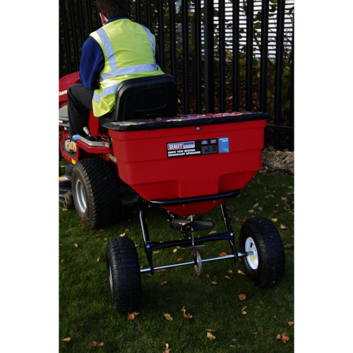 Broadcast Spreader 80kg Tow Behind - Sealey - SPB80T