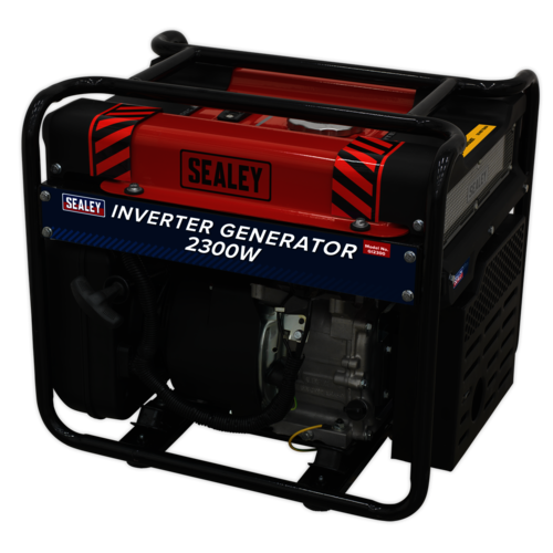Inverter Generator 2300W 230V 4-Stroke Engine - Sealey - GI2300