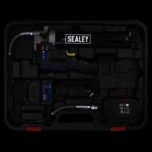 Cordless Grease Gun 18V - Sealey - CPG18V