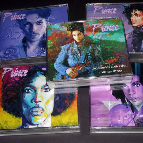 PRINCE RARE COMPLETE SINGLES COLLECTION VOLUMES 1-5