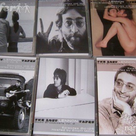 JOHN LENNON THE COMPLETE LOST LENNON TAPES ON SIX DVD'S