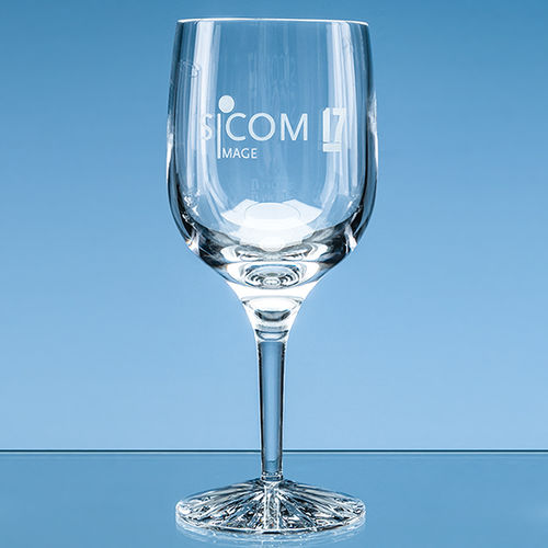 280ml Grosvenor Lead Crystal Goblet with Star Cut Base