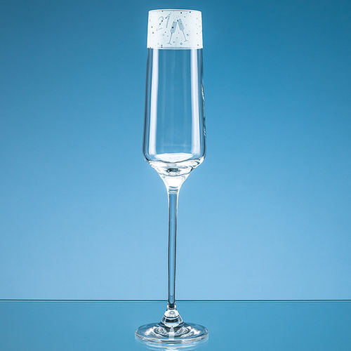 "190ml ""21"" Frieze Design Champagne Flute"