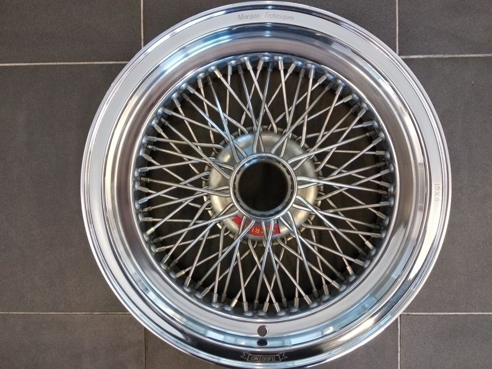 Turrino Wire Wheel - Alloy Rimmed